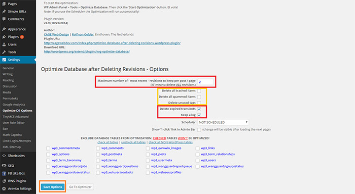 how-to-clean-old-wordpress-revisions-but-not-all-find-the-optimize-db-options-configure-settings