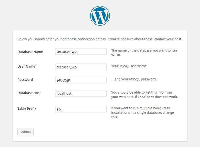 how-to-install-wordpress-manually-database-connection-details