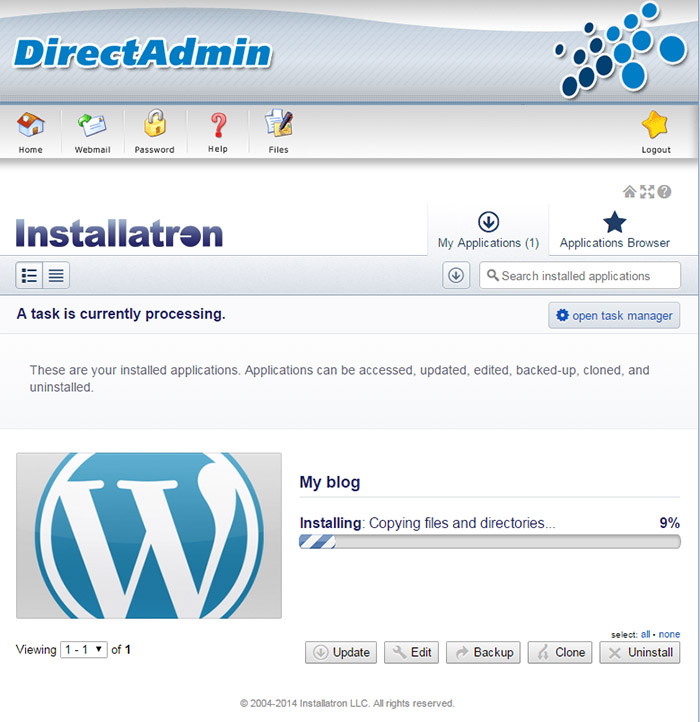 how-to-install-wordpress-using-installatron-processing